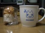 濃厚ミルクシューと紅茶